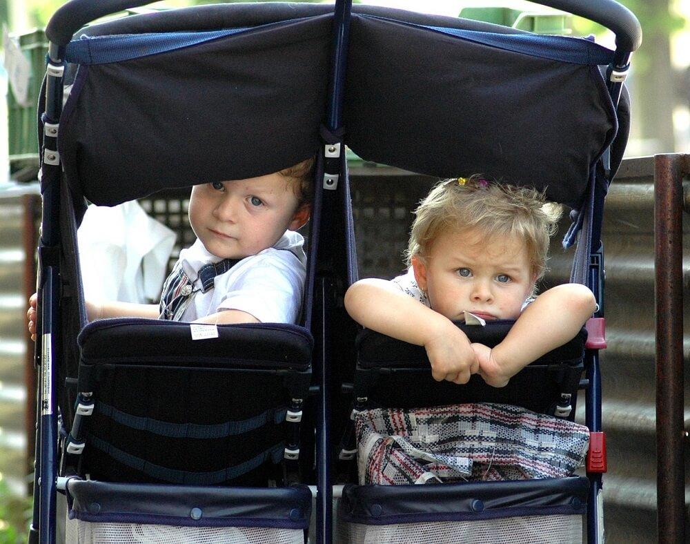 תאומים בעגלה